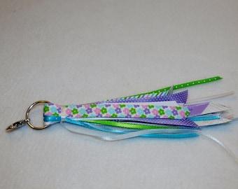 Pastel flower tassel