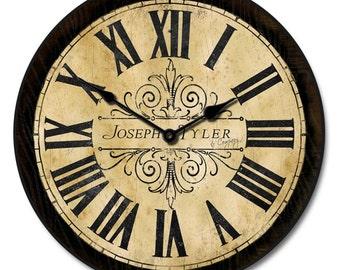 Tuscan Villa Clock