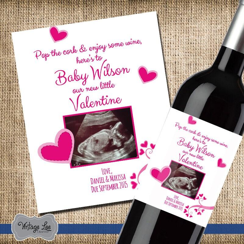 Préférence Annonce de la grossesse de la Saint-Valentin la WG25