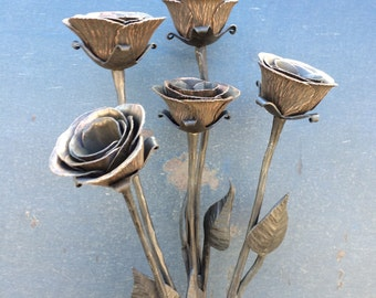 Single Forged Rose