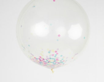 You Pick the Colors - Jumbo Confetti Balloon