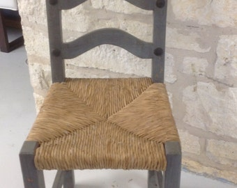 Vintage Mexican chair