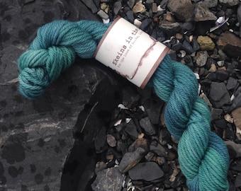 The Mermaids' Lagoon (mini skein) - 500 Austen, 54 yards, 25 g