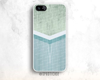 iPhone 6S Case, Wood  iPhone 5S Case, iPhone 6 Tough Case, Mint iPhone 5 Case Wood, iPhone 6 Plus Case, iPhone 6 Case, Geometric iPhone Case