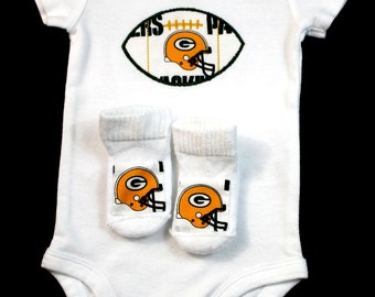 NFL Baby Bodysuit and Socks Set