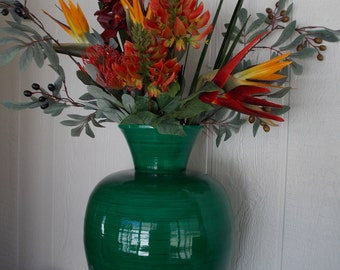 LARGE TROPICAL FLORAL  Arrangement      Garden Green      Spectacular Tropical Flowers and Foliage    Highest Quality