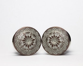 Lotus Plugs, gauges   5/8, 3/4 (16mm, 19mm)