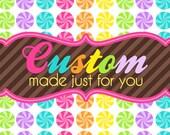 Custom Listing For Mona