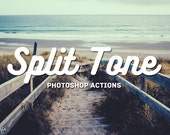 Split Tone Photoshop Actions