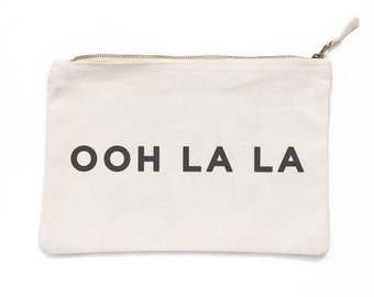 Ooh La La Make Up Pouch - Canvas pouch - cosmetic pouch