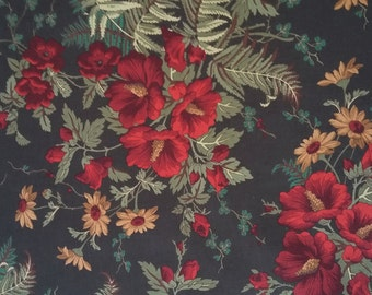 Fall Floral Fabric By The Yard