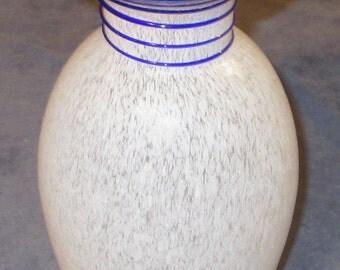 "Art Glass Vase 8 1/2"" tall"