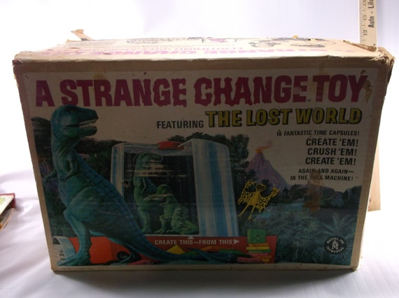 Strange Change Toy : A strange change toy featuring the lost world vintage s