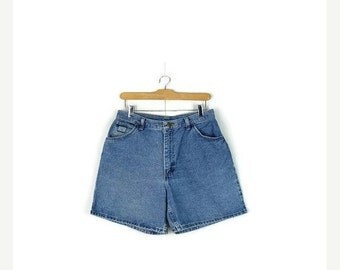 STORE WIDE SALE Free Shipping!! Vintage Wrangler Blue  Denim  Shorts from 90's*