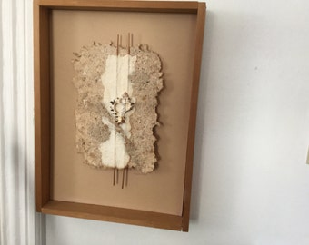 Framed Mixed Media piece