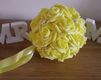 Wedding Pomanders, Wedding Flower Balls, Flower Girl Kissing Ball,  Bouquet Alternative