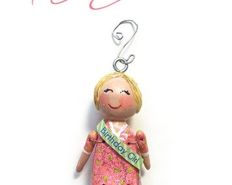 Name Your Birthday Girl (Ornament) - 1