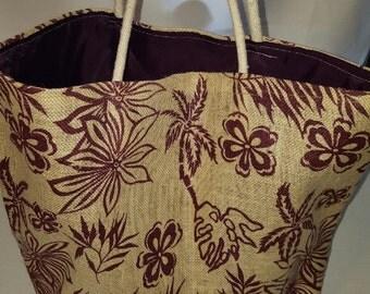 Tote Bag Burlap Bag Trendy Bag Grocery Bag