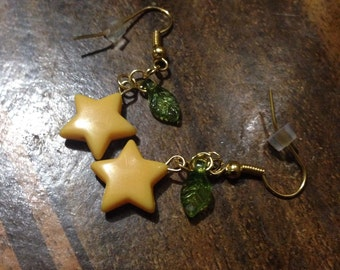 Kingdom Hearts inspired Paopu Fruit Earrings