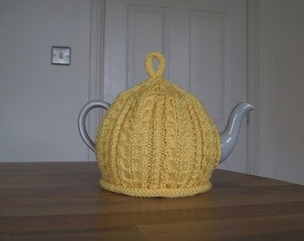 Knitted Tea Cosy Yellow - IMBER