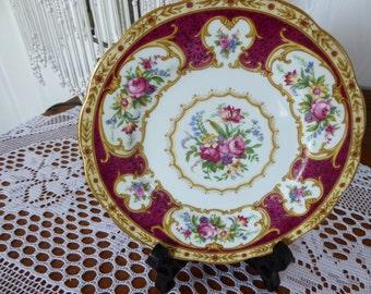 "Vintage Royal Albert LADY HAMILTON Bread & Butter Plates 6 3/8"""