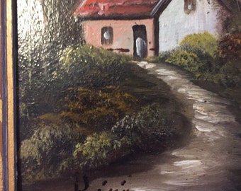 Painting of The French Countryside...Free Shipping...20% Off Coupon...TAKE20
