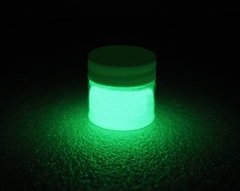 Green Glow in the Dark Paint - 1 oz