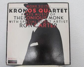 """Kronos Quartet - """"Monk Suite: Kronos Quartet Plays Music Of Thelonious Monk"""" vinyl record"""