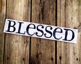 Blessed - Whitewash/Black