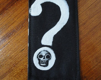 Skull Question Mark Patch