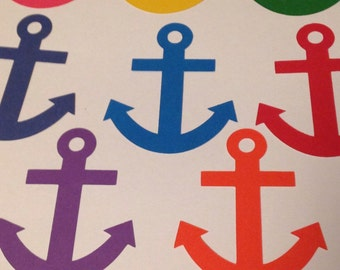 Anchor Die Cuts Qty: 25