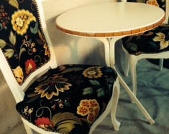 Italian chairs bistro set