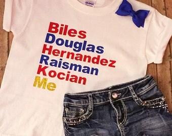 2016 USA Olympics Gymnastics Team Shirt - Ready to Ship