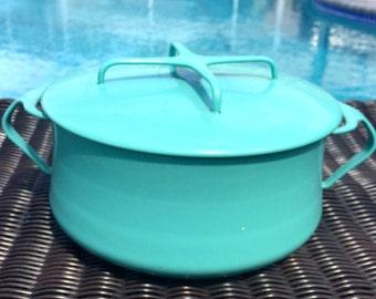 Turquoise Kobenstyle Dutch Oven - 2QT