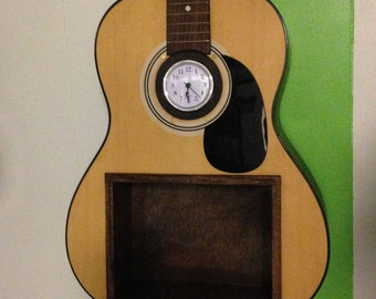 Upcycled Acoustic Guitar Shelf- One of a Kind