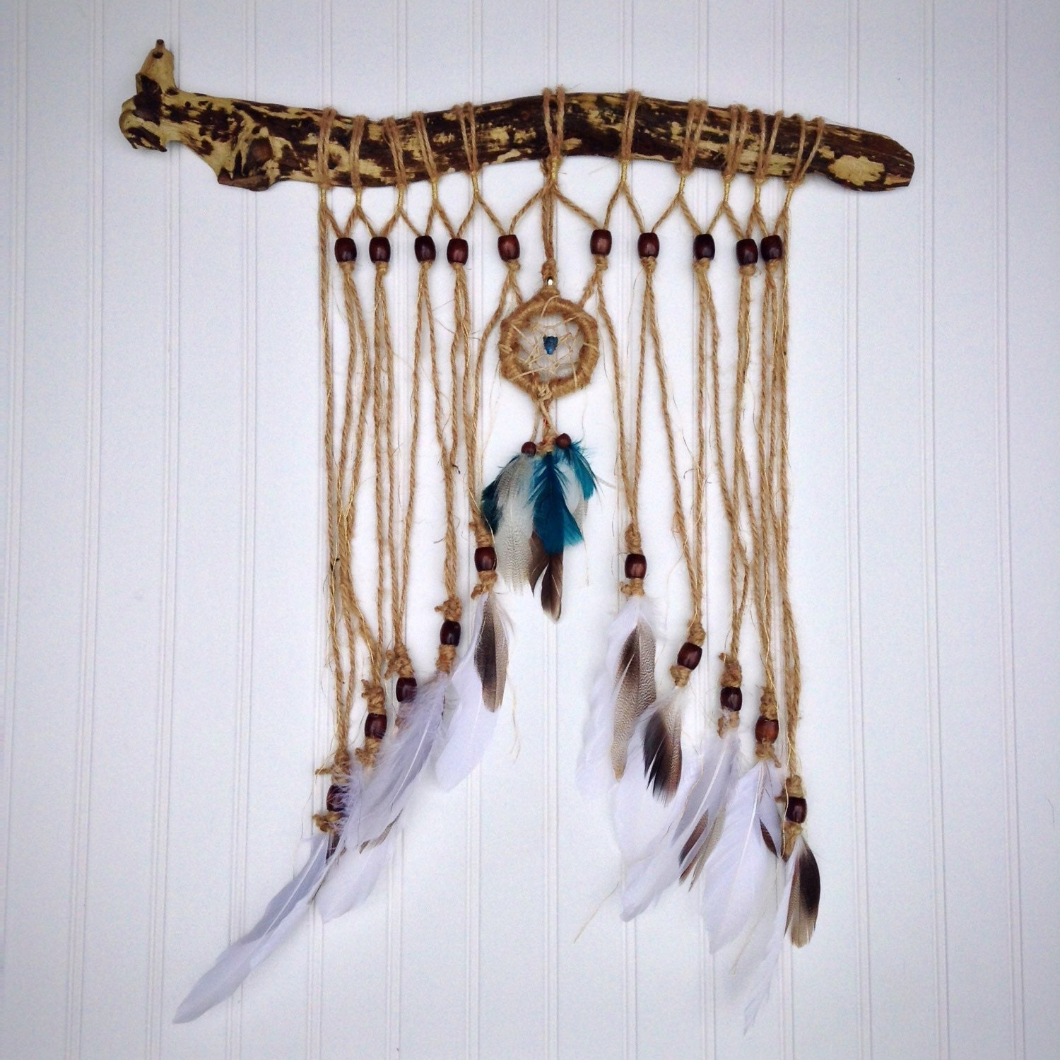 Southwestern decor boho wall art feather wall hanging for Southwestern decor