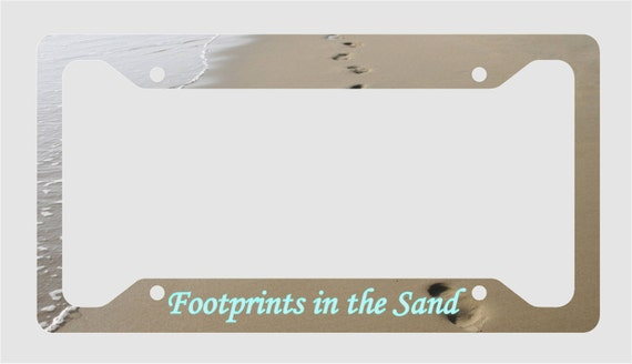 Items Similar To Footprints In The Sand Poem