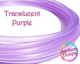"3/4"" Translucent Purple Polypro Hula Hoop"