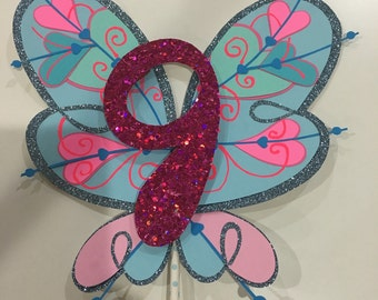 Winx club Bloom's wings Cake topper