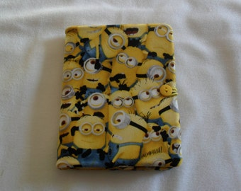 """Cute Minion tablet cover/case fits Kindle ereader, Kindle Paperwhite, Kindle Touch and the 5 1/2""""X6"""" NOOK"""