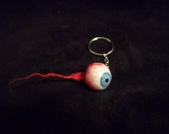Gory Eyeball Keychain