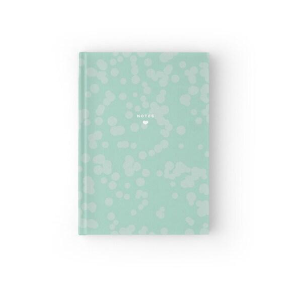 Mint Splatter Notebook
