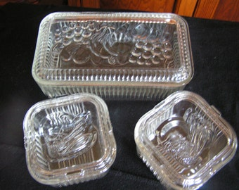 Clear Refrigerator Dishes