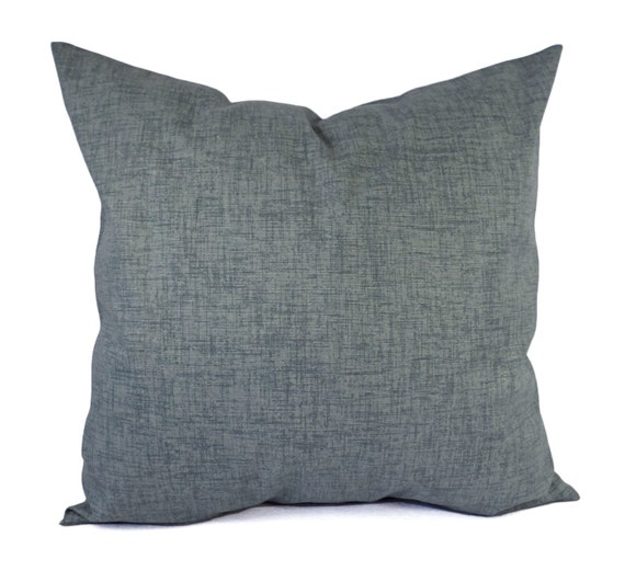 Throw Pillow Insert Cover : Two Pillow Covers Grey Throw Pillows Solid Pillow Cover