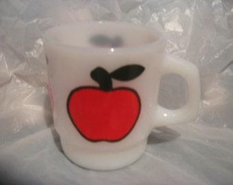 FIRE KING APPLE Mug Fruit