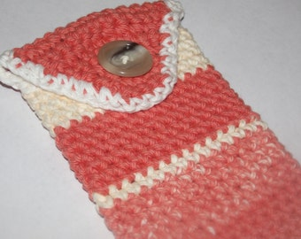Crochet Cell Phone Case **Custom Made to fit your Cell Phone** iphone 5s/ Samsung S4 or S6 or other