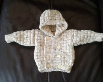 Hand Knitted Cardi