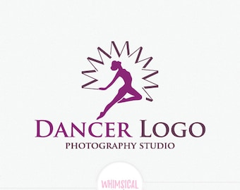 Dancer logo and letter M