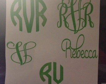Kelly Green Decals SALE