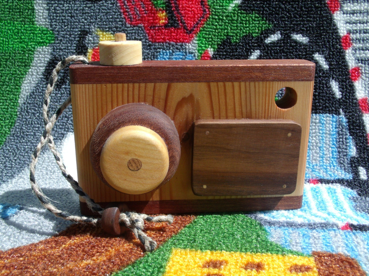 Toys Are Us Wooden Toys : Wooden toy camera handmade pretend play